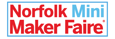 Norfolk Mini Maker Faire Logo, 400 pixels wide